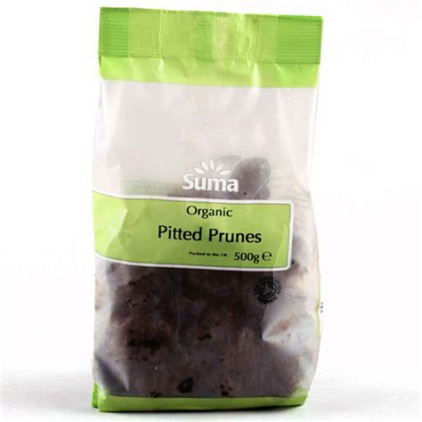 Pitted Prunes Plum 500g From Australia suma prepacks organic pitted prunes 500g suma wholefoods