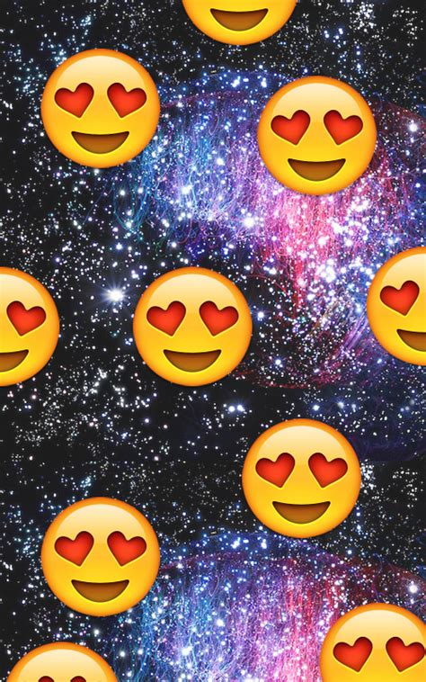 galaxy wallpaper with emoji galaxy heart emoji everytime i see my crush we heart it