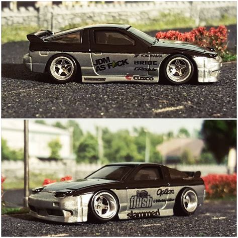 custom nissan 180sx how to make deep dish wheels in 5 minutes