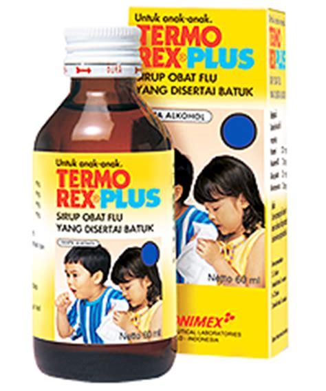 Obat Tremenza dosis cara kerja termorex plus sirup daftar dosis obat