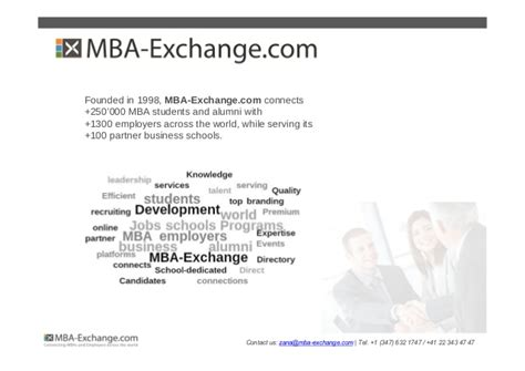 Mba And Development Programs by Development Programs Gaining Momentum Among Mba Students