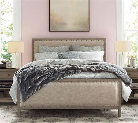 pottery barn king bed toulouse wood bed pottery barn