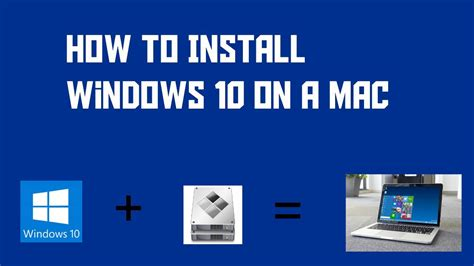 install windows 10 mac how to install windows 10 on a mac using bootc