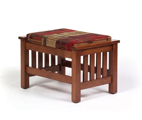 mission ottoman 1800 mission ottoman ohio hardwood furniture