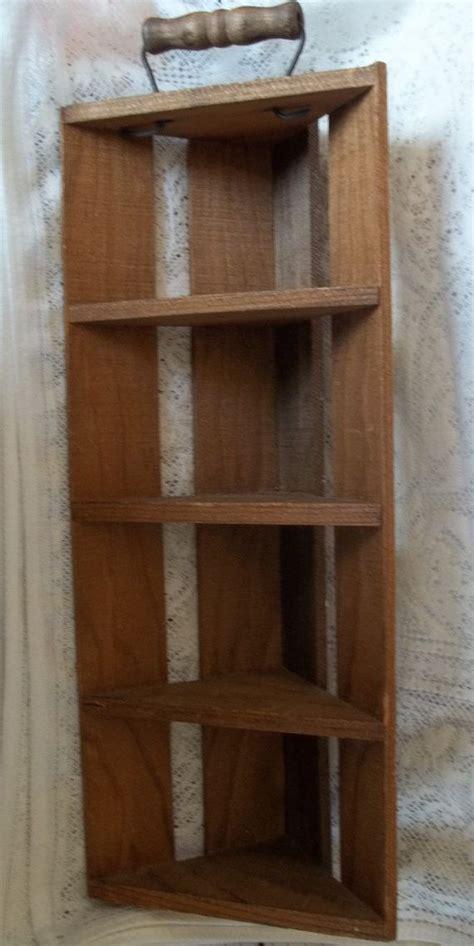 best 25 wooden corner shelf ideas on creative