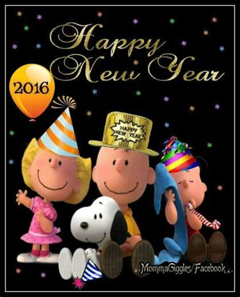 peanuts happy new year 2016 quote pictures photos