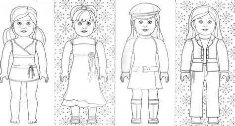 free coloring pages of american girl dolls american girl doll coloring pages 419653 171 coloring pages