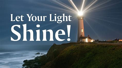 let your light shine youtube