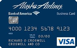 Bofa Visa Gift Card - alaska airlines visa 174 business credit card from bank of america