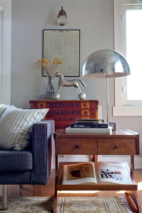 mix mid century modern with traditional fdr chic a dude s mix of antique mid century and