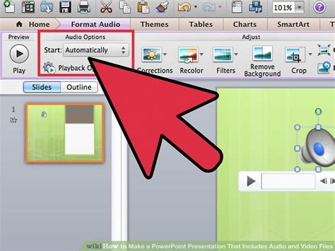 format audio for powerpoint how to make a powerpoint presentation that includes audio