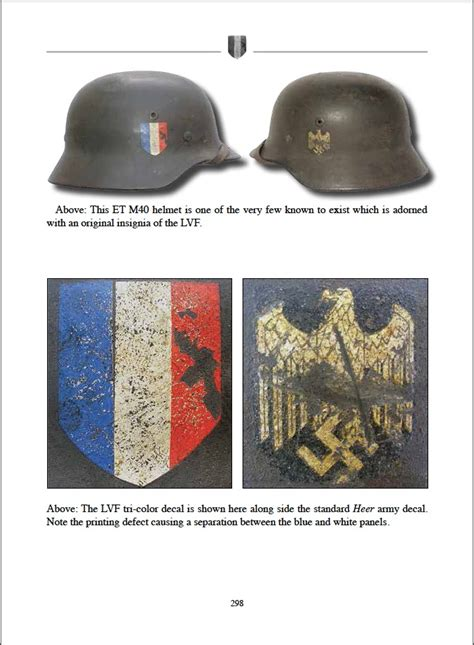 Ss Aufkleber Helm by The Helmet Decals Of The Third Reich Ken Niewiarowicz Ww2