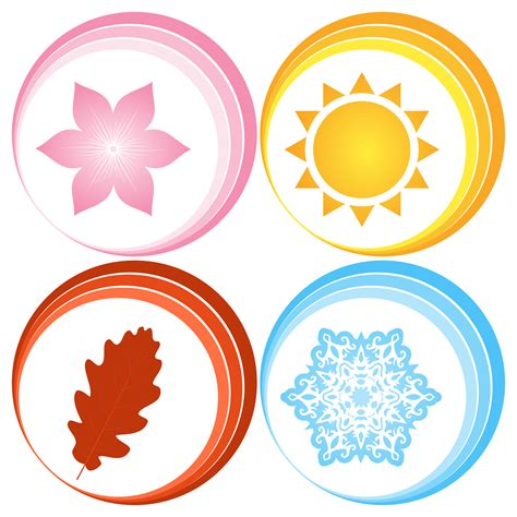 Pictures Of Symbol clipart four seasons symbols