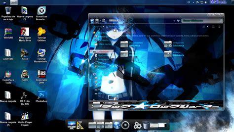 pc themes anime brs theme for windows 7 by alucarvr on deviantart