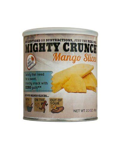 Freeze Dried Mango Slices mighty crunch freeze dried mango slices snack 12 pack cheapest suadua