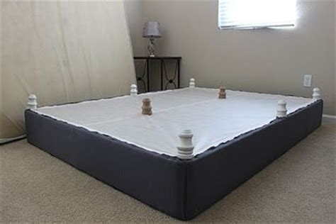 Bed Frame Alternative Momma Rake Diy Upholstered Box And Alternative To Buying A Bed Frame Dreamy