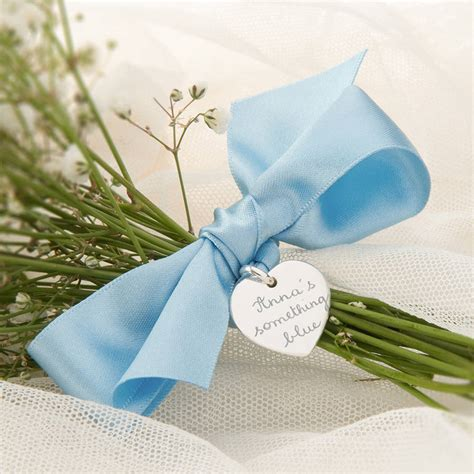 And Something Blue personalised something blue bouquet token by merci maman