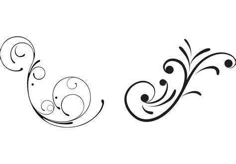 moon vector scroll designs images  scroll vector