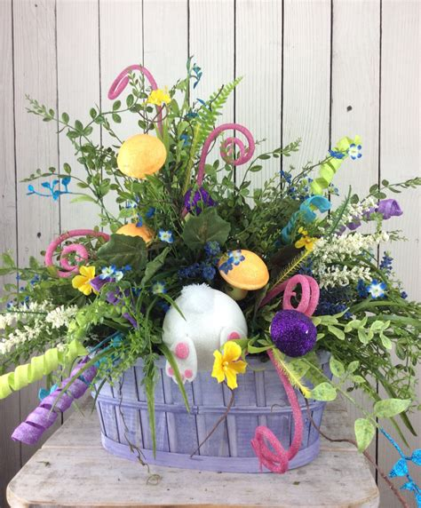 Easter Centerpiece Easter Floral Arrangement Easter Table Easter Arrangements Centerpieces