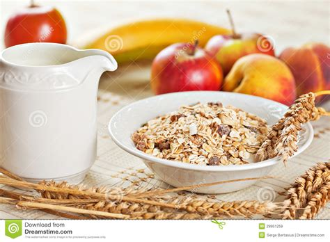 1 fruit bowl calories bowl of muesli for breakfast with fruits royalty free