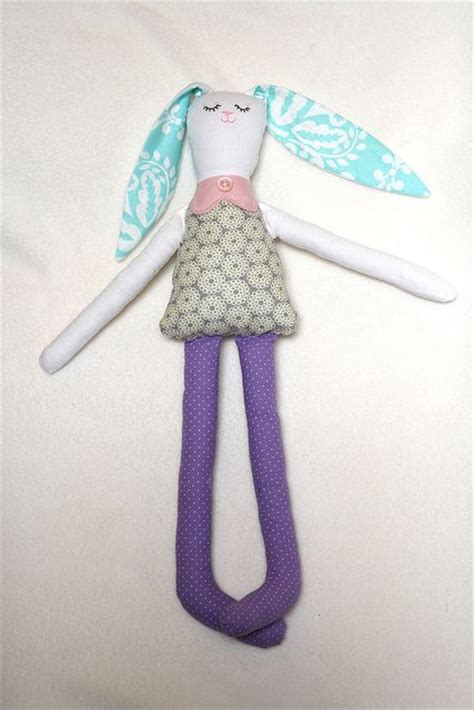 rag doll bunny pattern tutorial bunny rag doll with free pattern toys