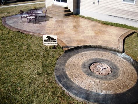 Cost To Build A Concrete Patio by Sted Concrete Patios Cost