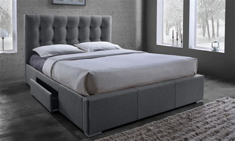 groupon bed marion fabric storage bed groupon goods