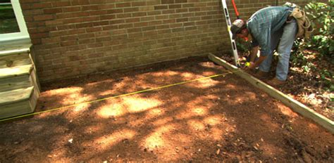 How To Lay A Paver Patio Build A Paver Patio Sand Base