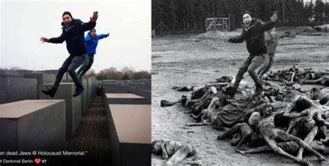 imagenes fuertes del holocausto nazi artista israel 237 realiza pol 233 mico fotomontaje en el