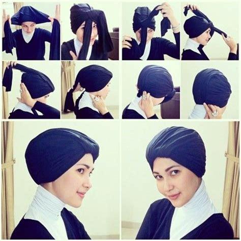 tutorial turban shawl how to wrap turban tutorial turban style hijabs pinterest