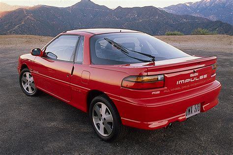 1990 92 isuzu impulse consumer guide auto