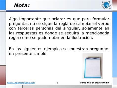 preguntas y respuestas usando do y does 1 3 preguntas personales en presente simple usando do y does
