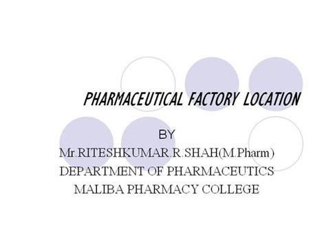 pharmaceutical plant layout design ppt pharmaceutical factory loction authorstream