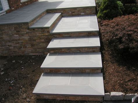 Sealing Bluestone Patio by Bluestone Steps With Risers And Front Patio