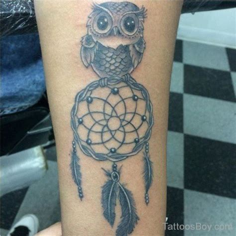 tattoo dreamcatcher with owl owl and dreamcatcher tattoo tattoo designs tattoo pictures