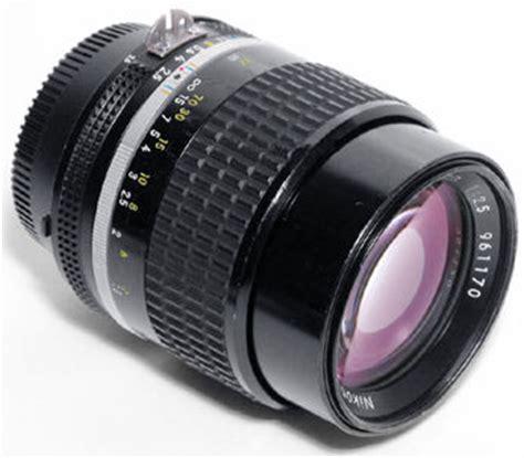 nikkor 105mm f2.5s telephoto lens