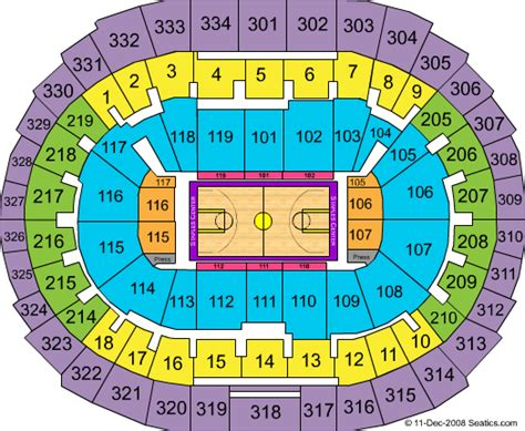 staples center map staples center seating map