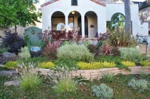 drought tolerant front yard mediterranean garden san francisco by kristen rudger