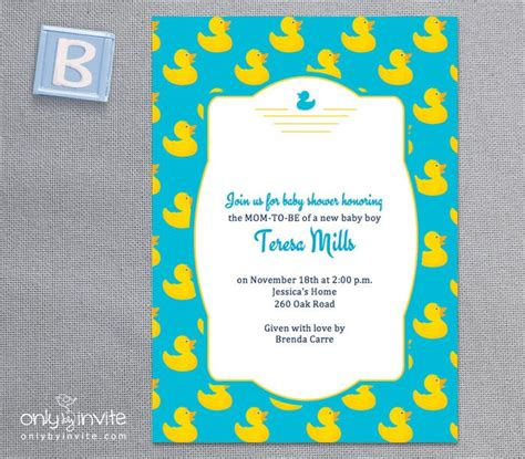 Rubber Ducky Baby Shower Invitations Template Free 7 Best Images Of Rubber Ducky Printable Template Free Printable Rubber Ducky Baby Shower