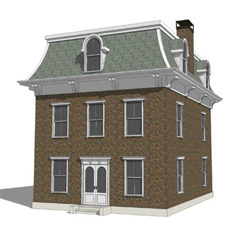 Brick Garages Designs revitcity com curved mansard roof