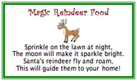 magic reindeer food poem template my creative place 11 1 09 12 1 09