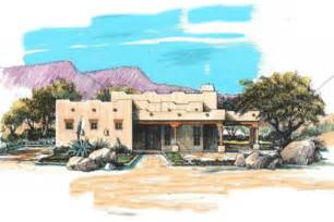 adobe style home plans adobe southwestern style house plan 3 beds 2 baths 1684 sq ft plan 4 103