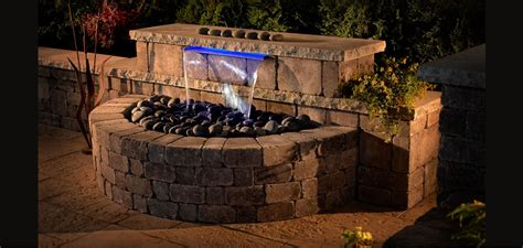 Retaining Wall Kit Walls Outdoor Living Kits Pavers Hardscape Products