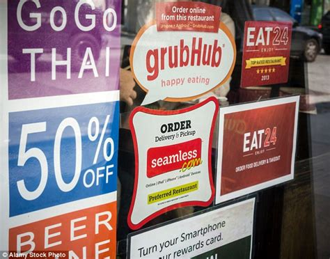Grubhub Background Check Requirements New York Is Home To Ghost Restaurants Listed On Seamless And Grubhub Daily Mail