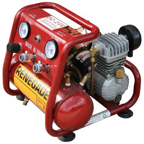 dc  renegade industrial compressor   amps