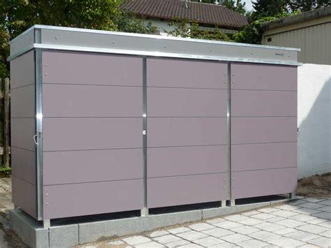 garten q trash m 252 lltonnenbox m 252 llbox aus metall oder edelstahl