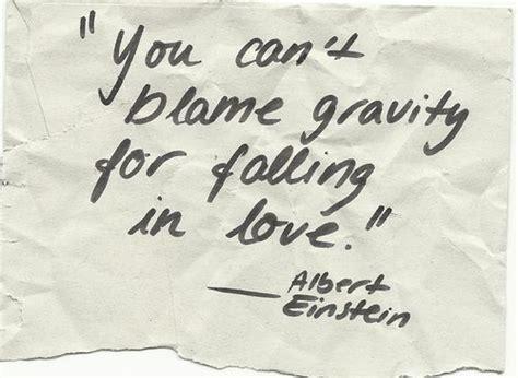 Albert Einstein Quotes Gravity Love