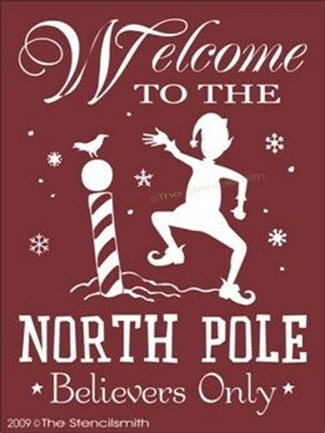 printable elf signs 985 stencil for sign welcome to the north pole elf
