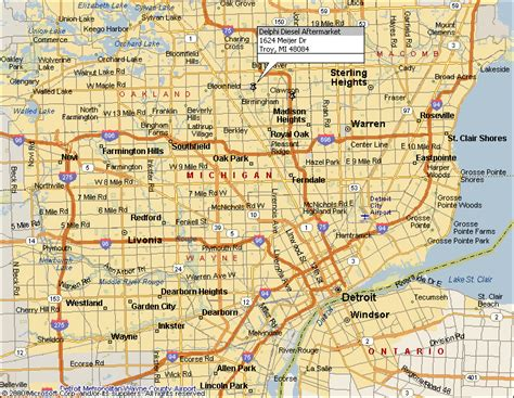 printable detroit area map 29 new map of detroit area and suburbs afputra com