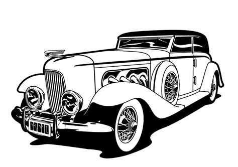 cars black and white black and white pictures of cars clipart best